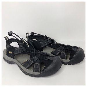 KEEN Women's Venice H2 Waterproof Sandal Black7.5